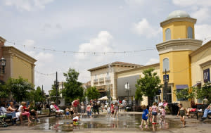 Cooling your jets in the Rocket City at Bridge Street Town Centre in Huntsville, Alabama via iHeartHsv.com