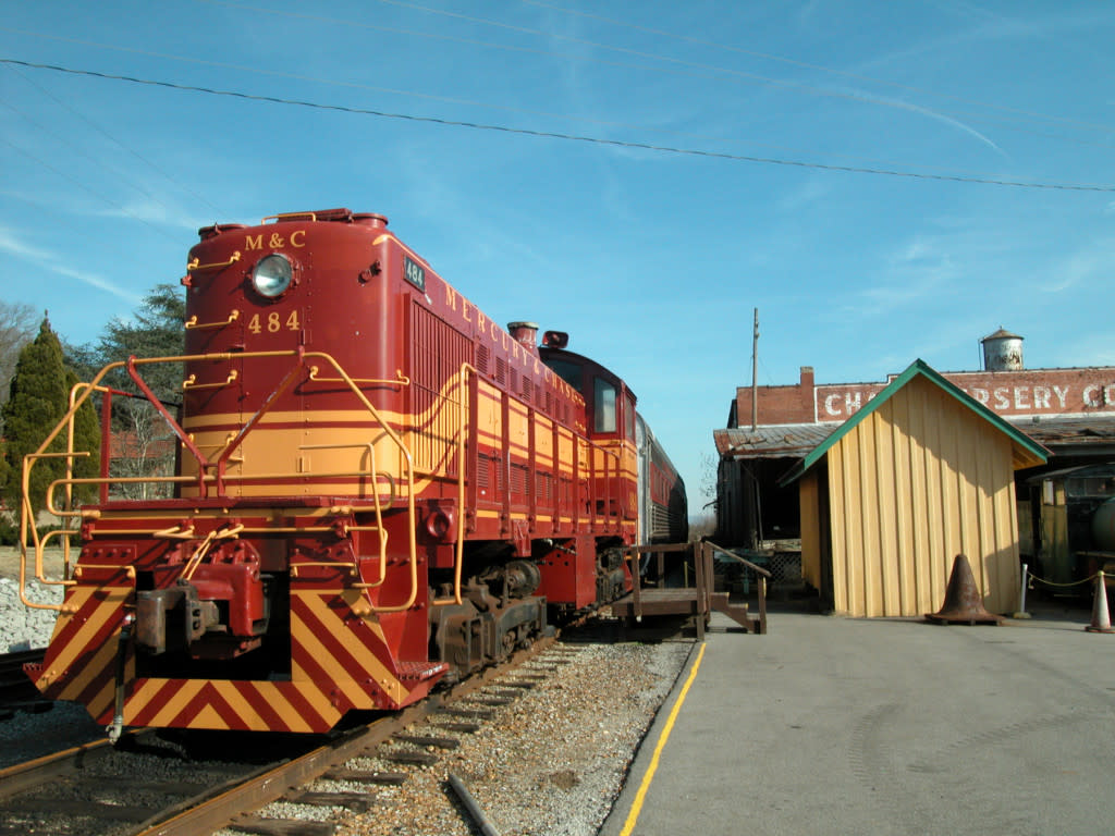 North Alabama Railroad Museum in Madison County, Alabama