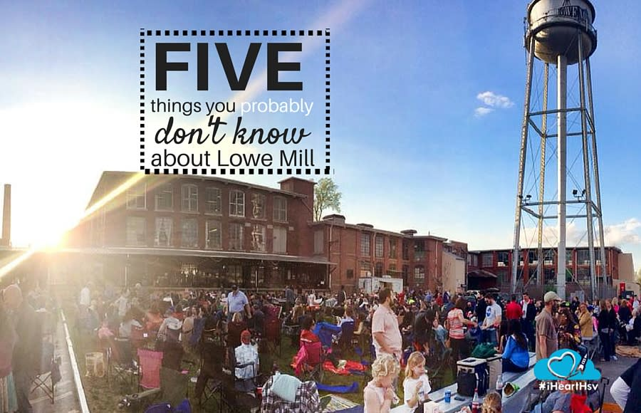 5 things you probably don't know about Lowe Mill ARTS & Entertainment