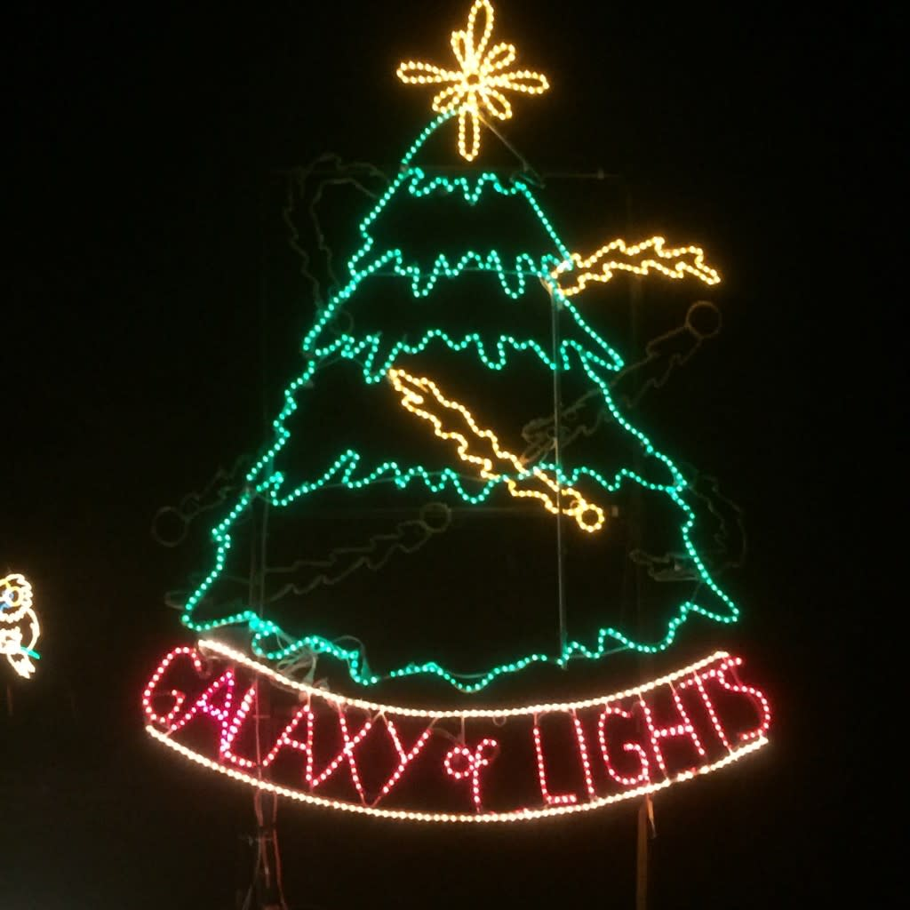 Galaxy of Lights in Huntsville, Alabama via iHeartHsv.com