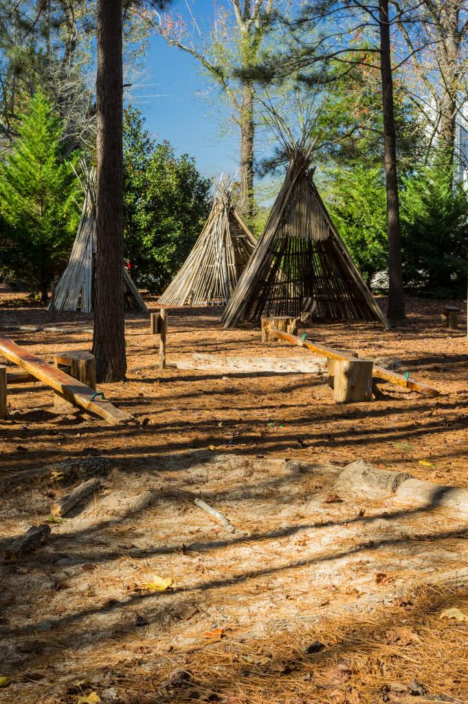 Terrame Natural Playground at Hays Nature Preserve in Huntsville, Alabama
