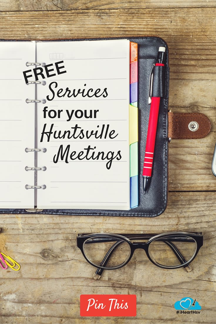 Free Services For Your Huntsville Meetings