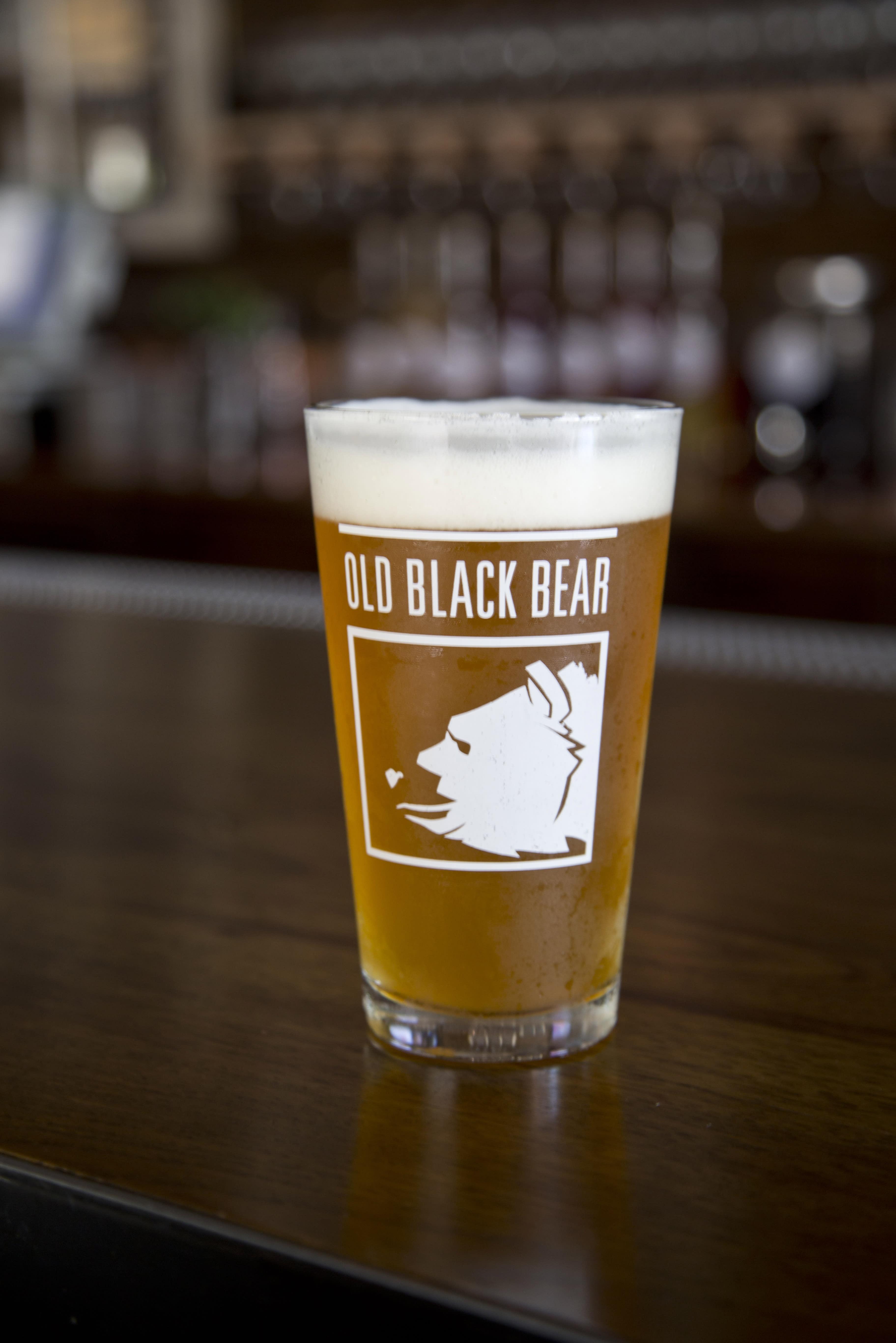 Old Black Bear Brewing Restaurant Week Beer