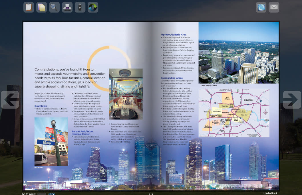 Bid Book Screenshot