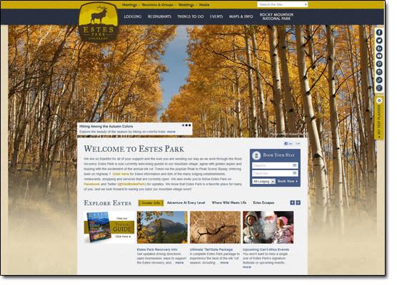 Estes Park Website