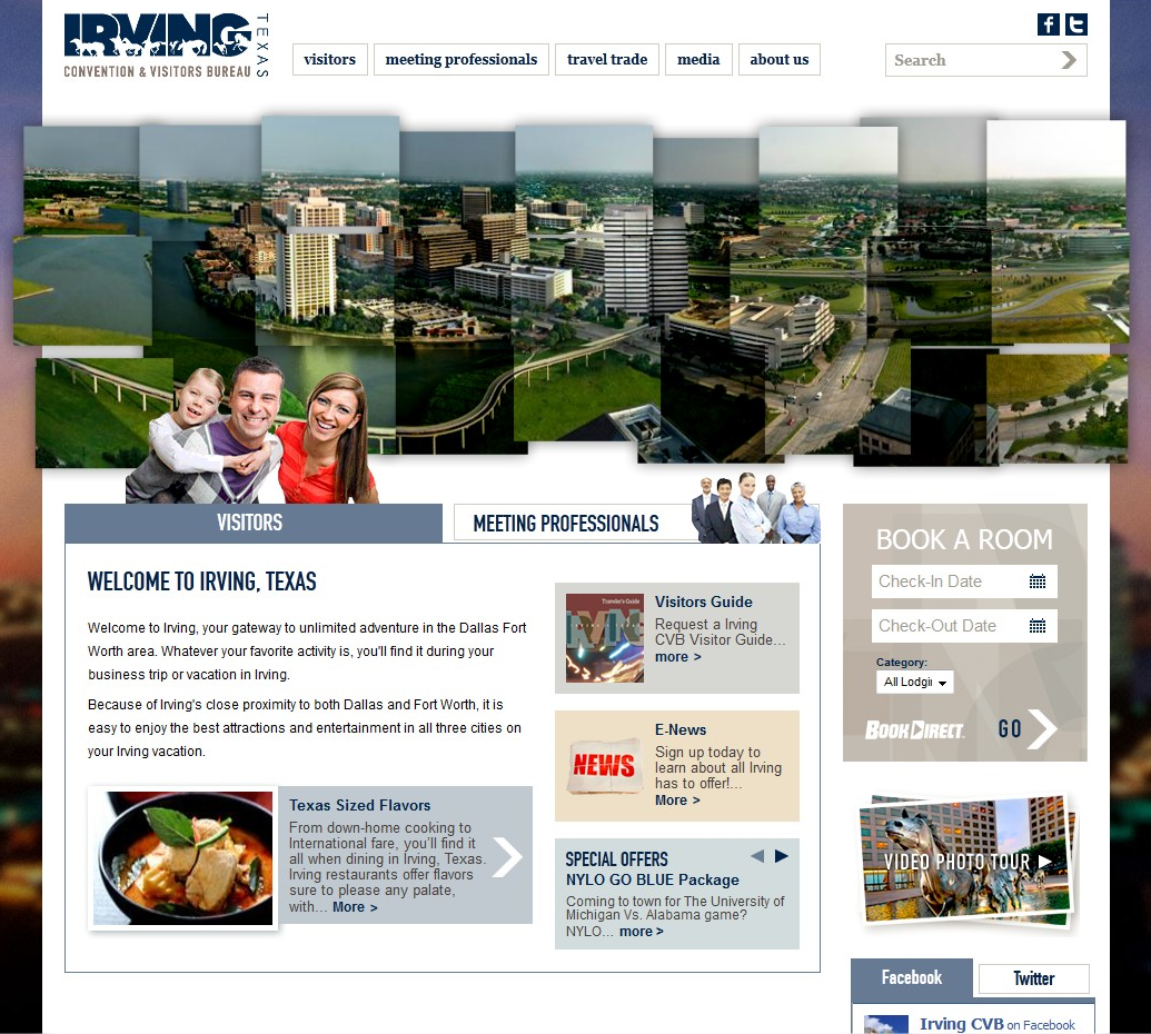 Irving Texas Site Design - March 2012