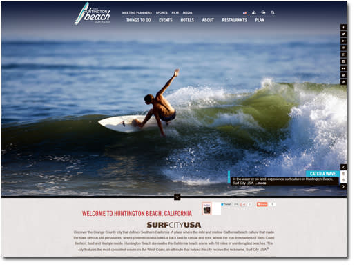 Huntington Beach Home Page