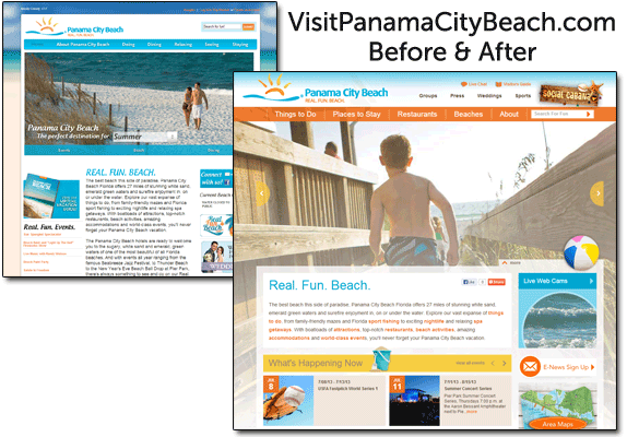 Panama City Before After 2013