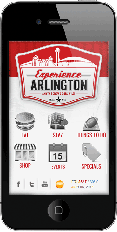 Arlington 2012 Mobile Mockup