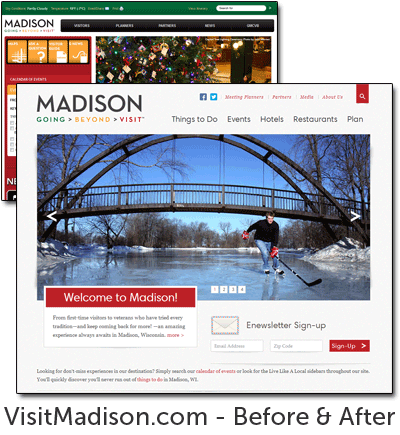 Madison 2013 Before and After