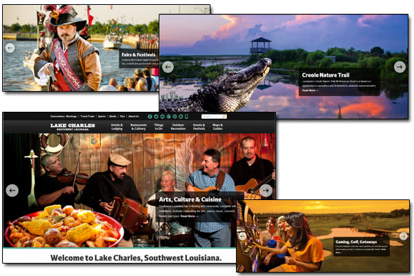 Lake Charles Home Pages