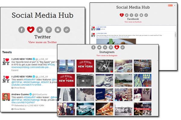 ILoveNY - Social hub