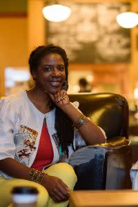 Nekeisha Alayna Alexis is one of the organizers of the monthly Downtown Soul Art and Music series, which will have its final installment of the year Saturday, Nov. 12, 2016, at The Electric Brew, Elkhart.
