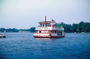 A cruise on the St. Joseph River in the Elkhart River Queen could be the right recipe for romance, and a marriage proposal.
