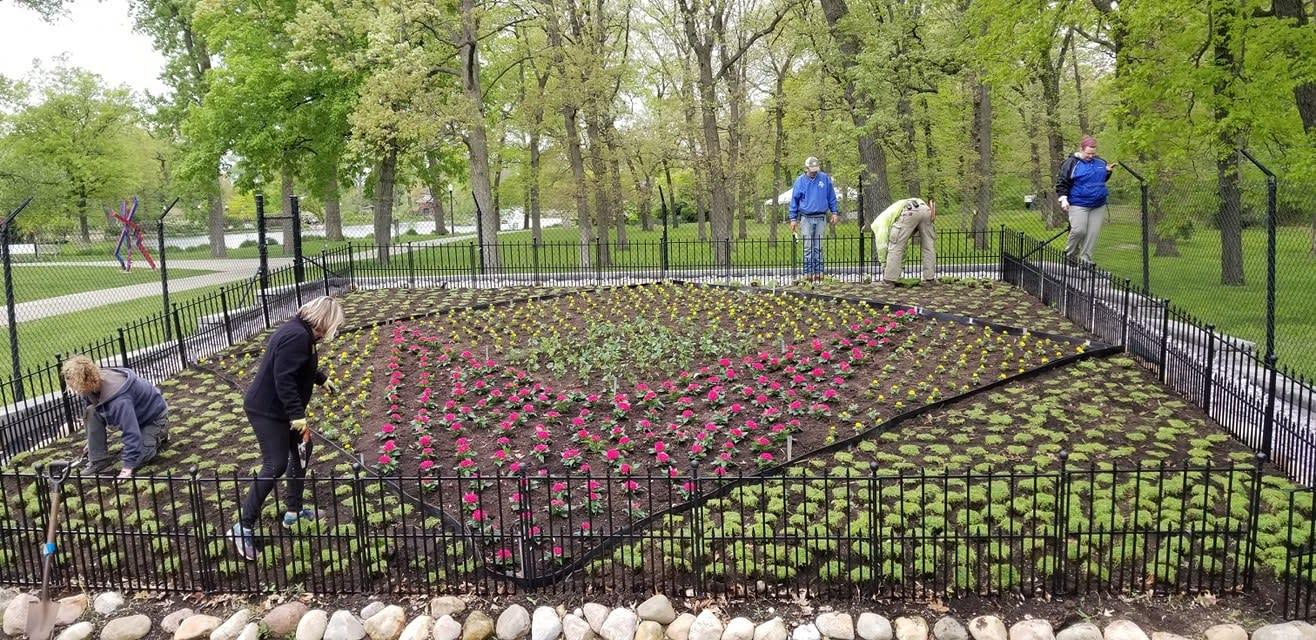 Wellfield Quilt Garden