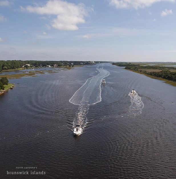 Boating NC's Brunswick Islands