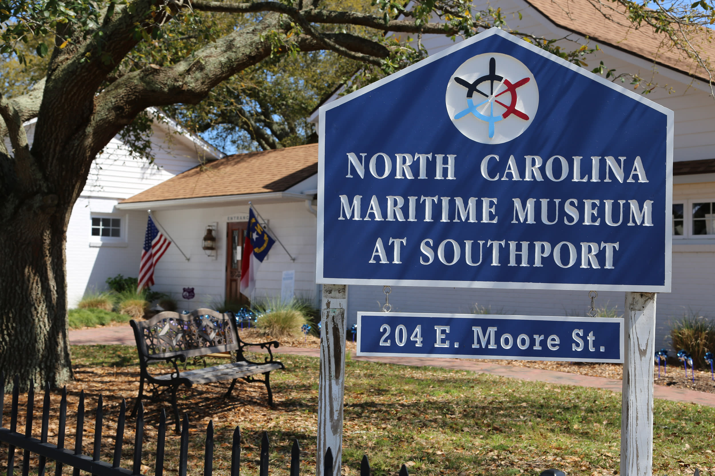 NC Maritime Museum in Southport