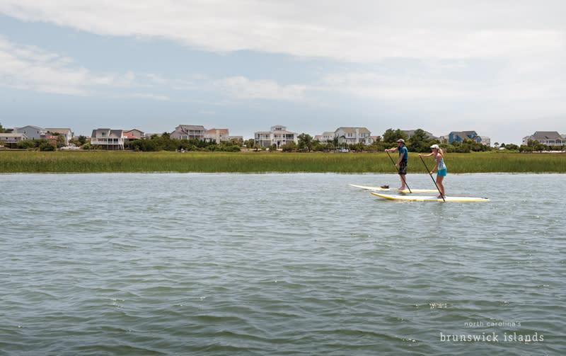 SUP NC's Brunswick Islands