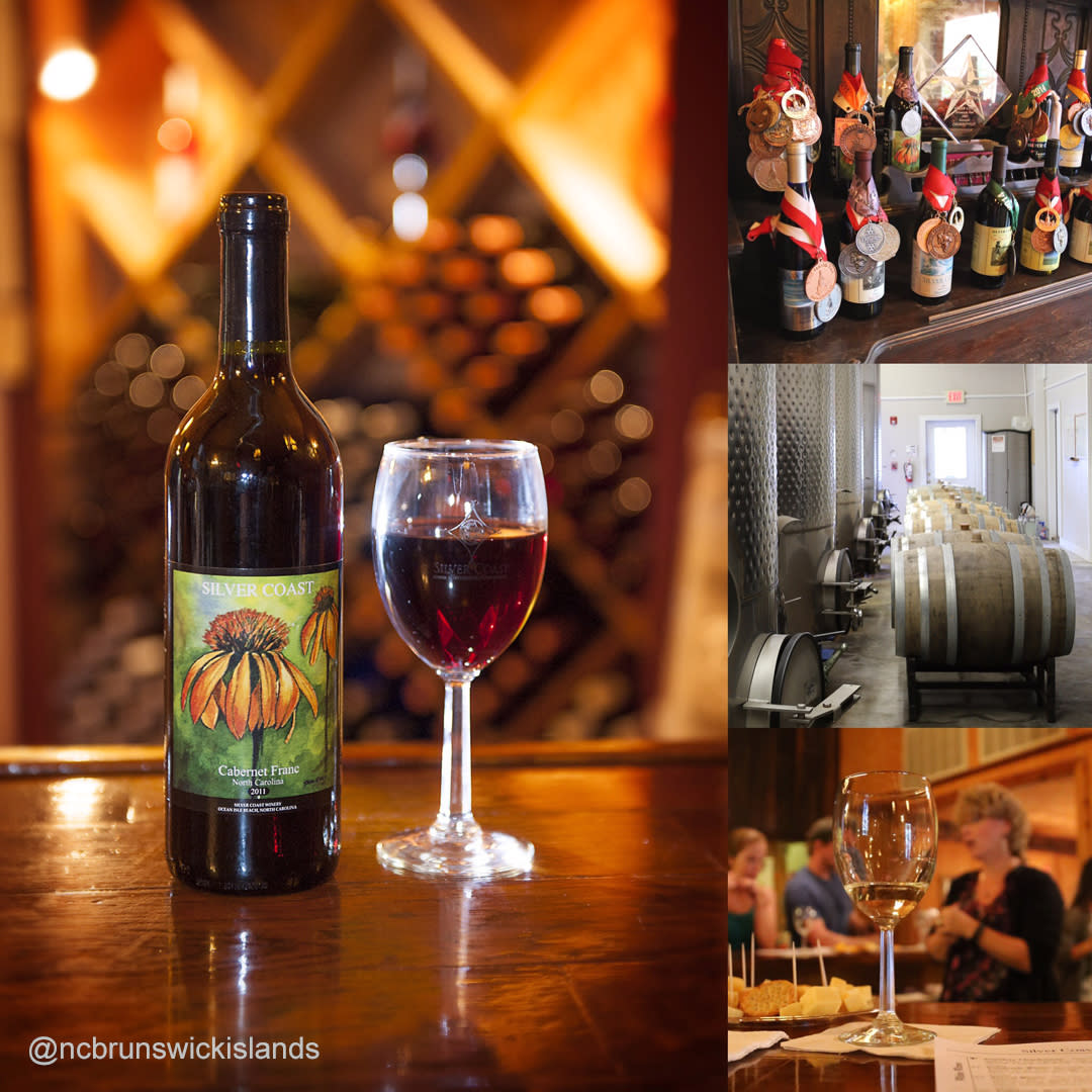 Silver Coast winery Ocean Isle Beach