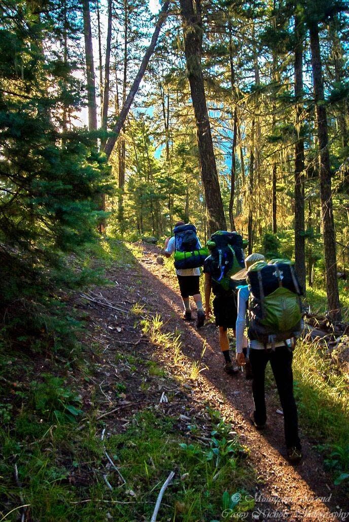 Emerald Lake Hike in the Wmeinuche Wilderness