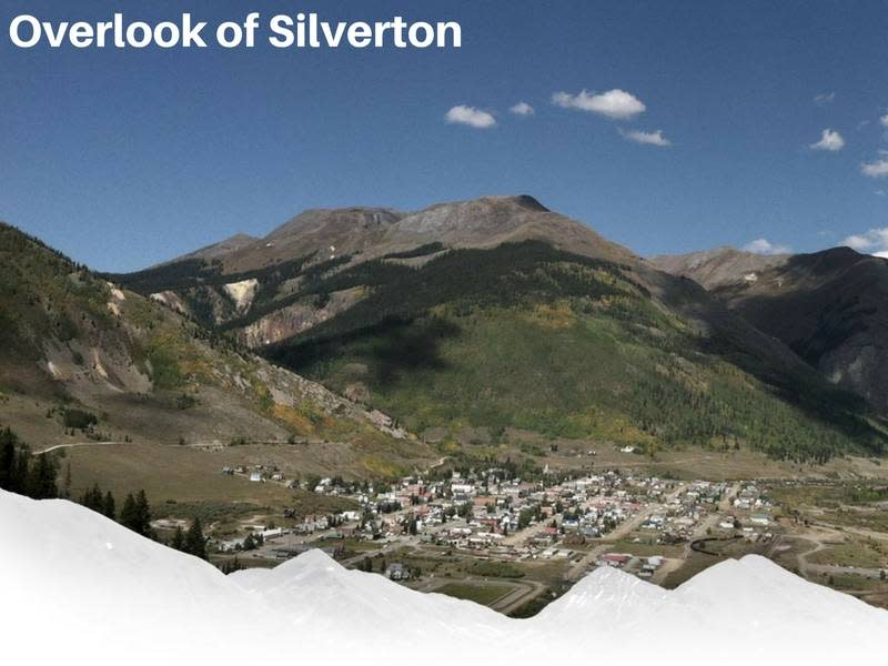 Overlook of Silverton Colorado