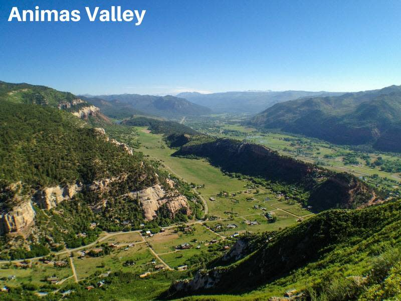 Views of the Animas Valley