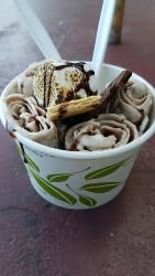 All Thai'd Up Ice Cream Rolls, photo by Keira M.