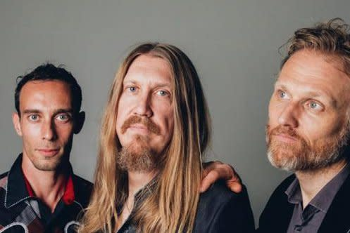 The three members of the Wood Brothers