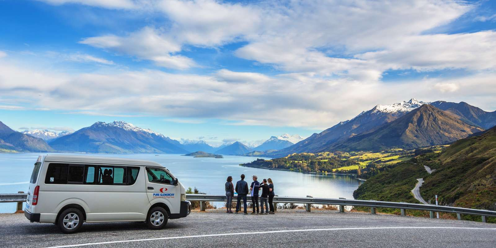 Travel along New Zealand's most scenic highway from Queenstown to Glenorchy you will have the opportunity to stop and photograph incredible vistas.