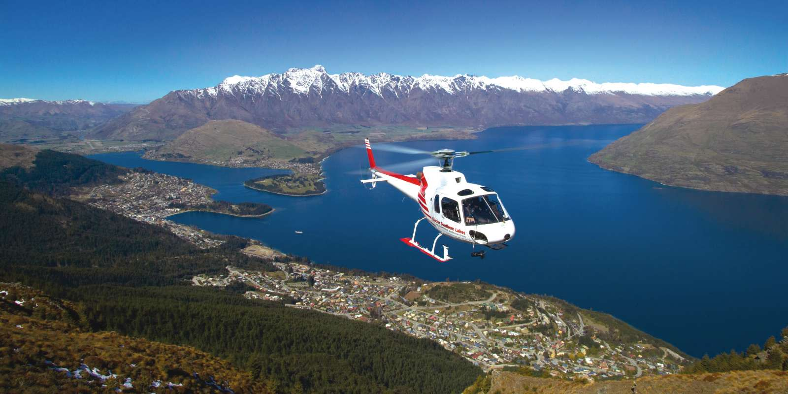 Scenic Helicopter flight in Queenstown