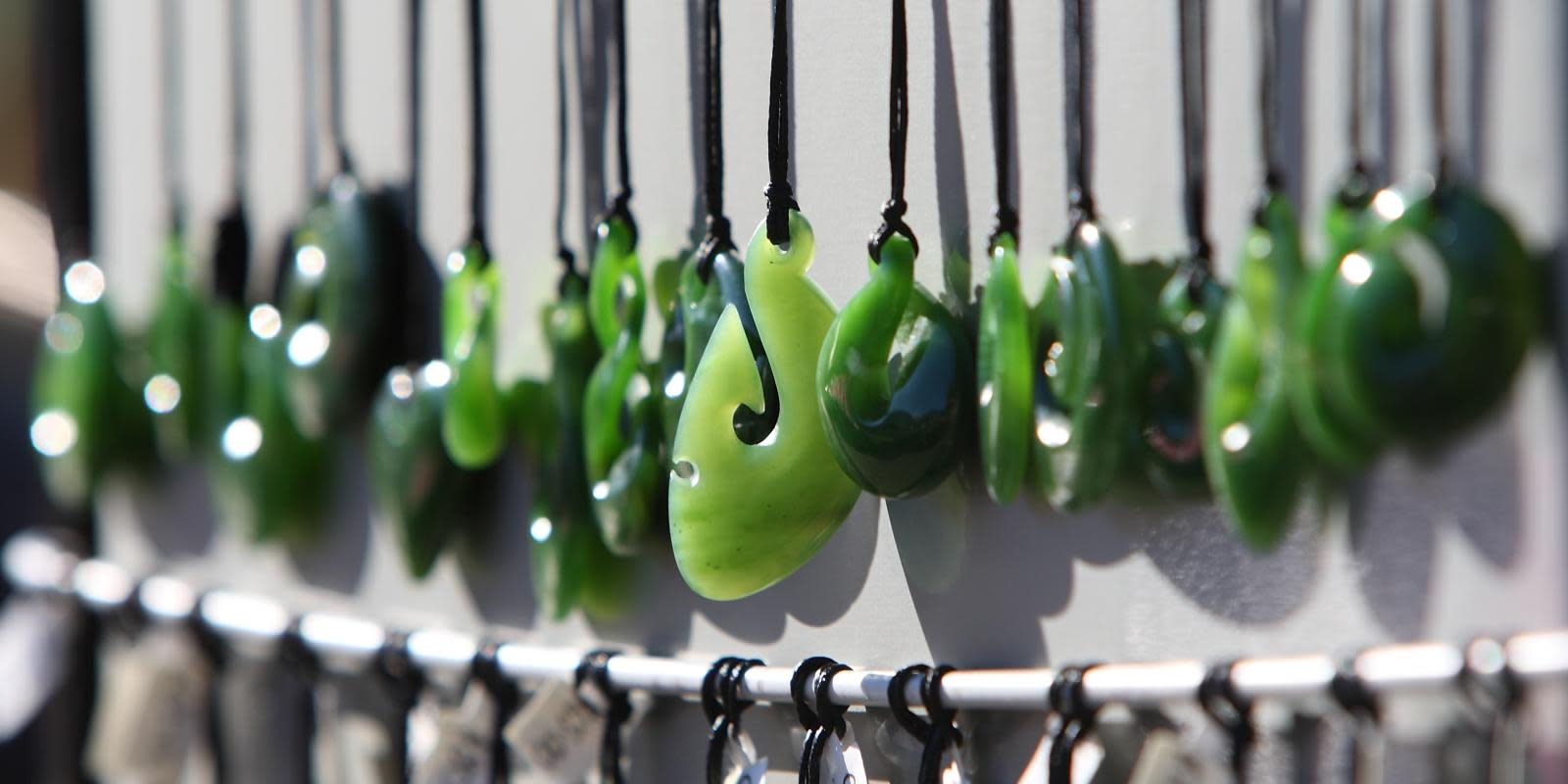 Pounamu Jewellery from Local Market in Queenstown