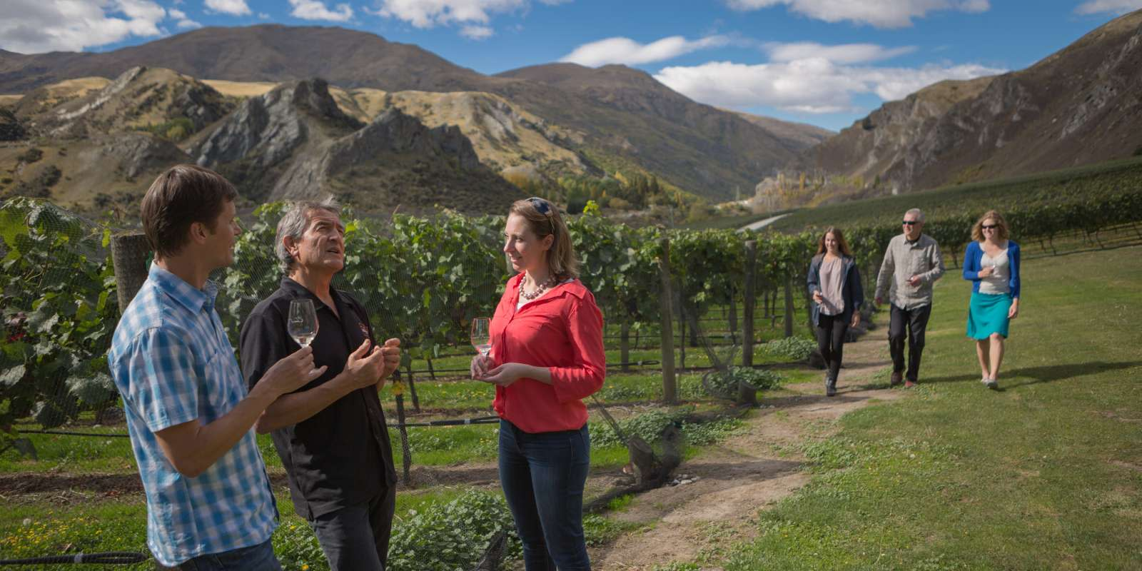 Wine Tasting at Chard Farm, Gibbston Valley