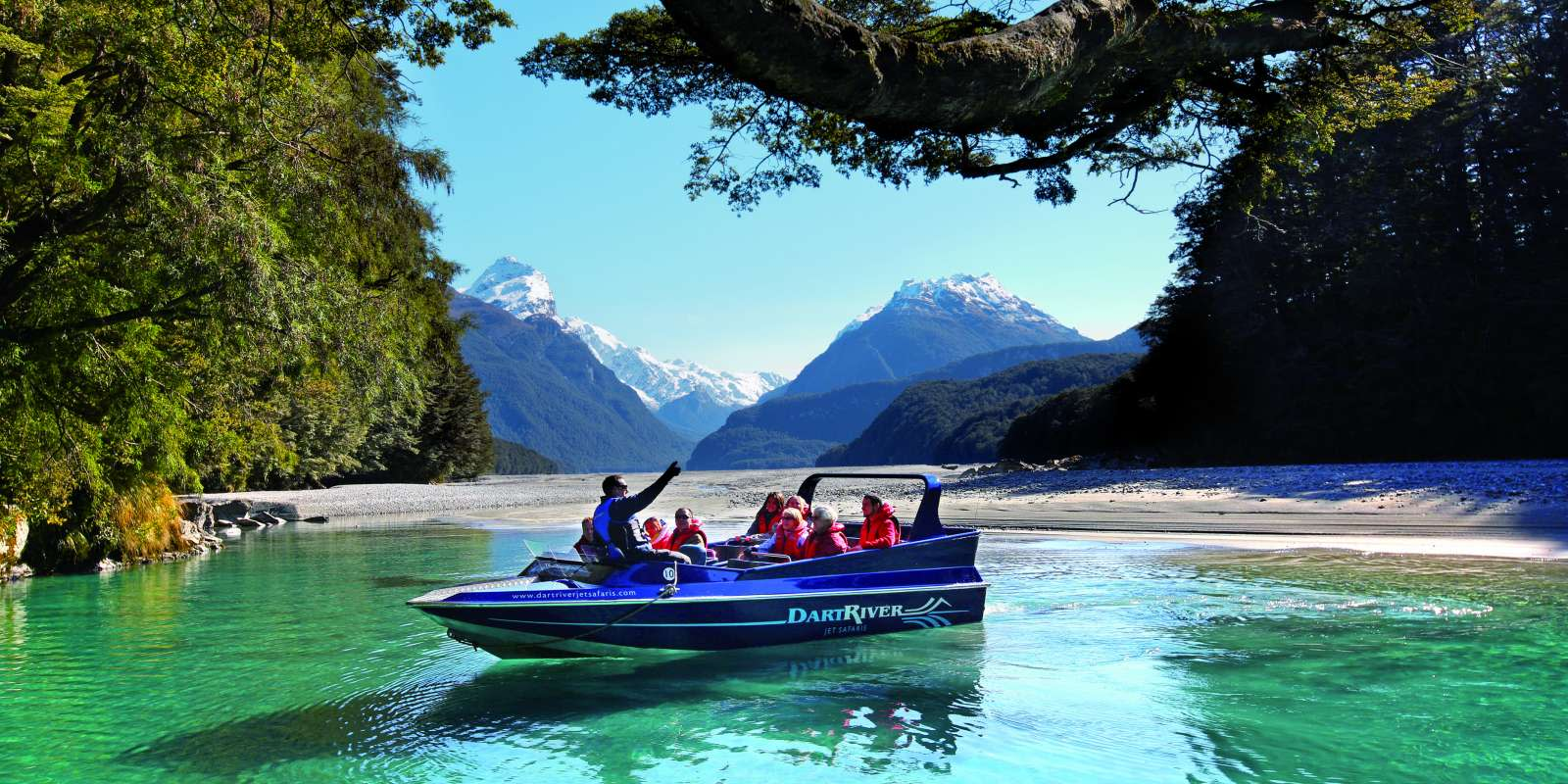 Dart River Jetboat