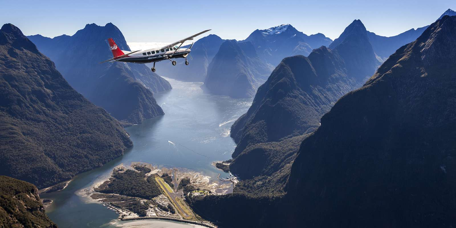 Milford Sound by plane
