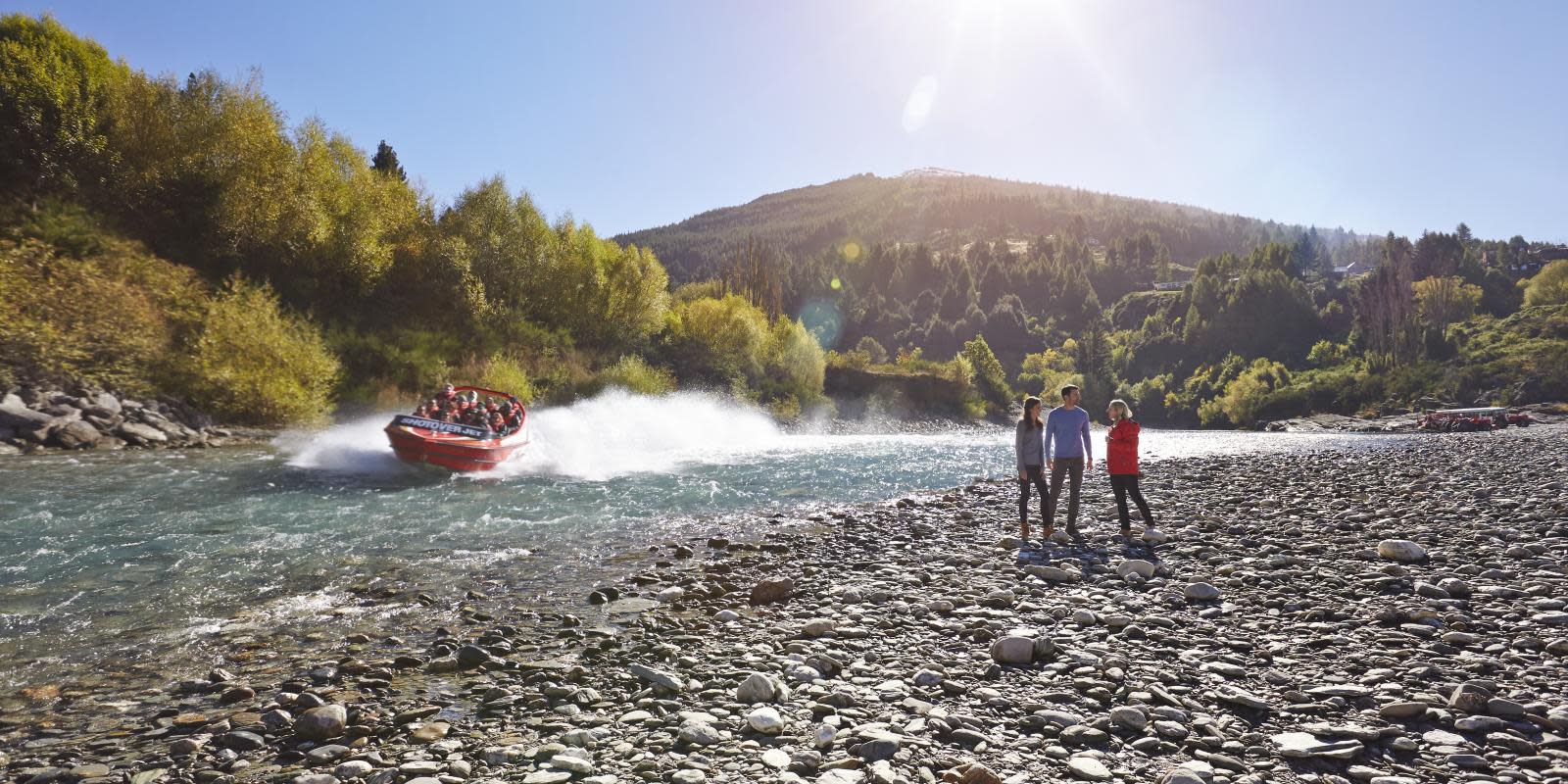 Jet Boat on Shotover River