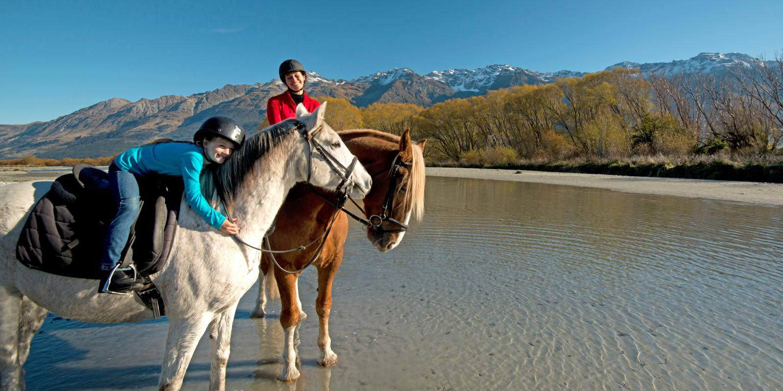 Horseriding in Glenorchy