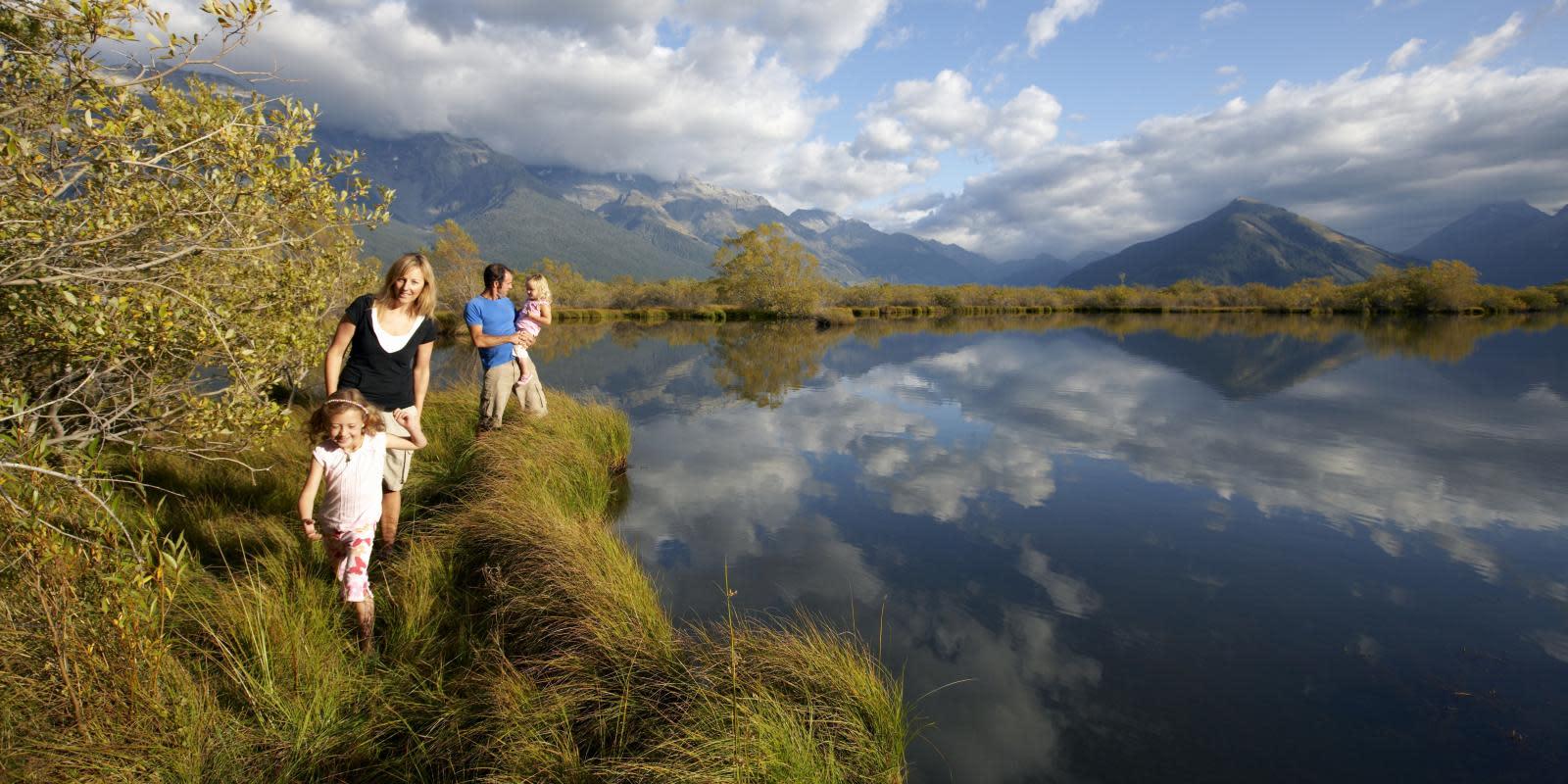 Mirror Lake Glenorchy Queenstown