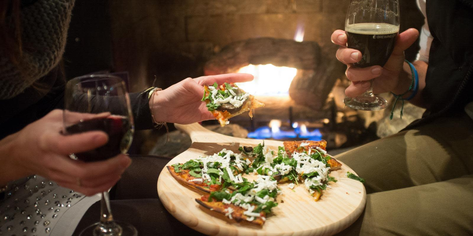 Pizza and a Roaring Fire: Little Blackwood