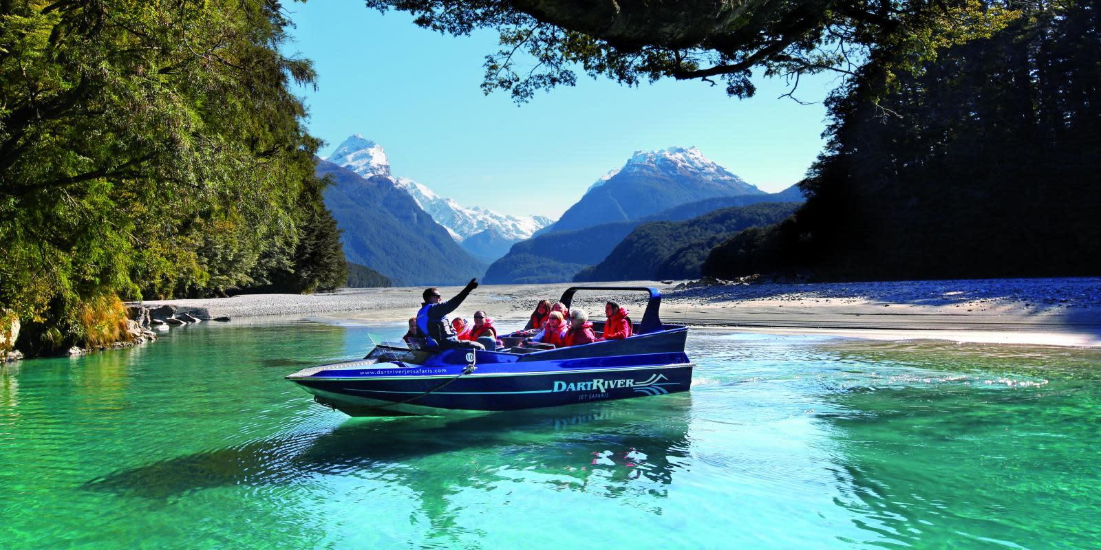 Dart River Jet Boat Wilderness Experience Queenstown