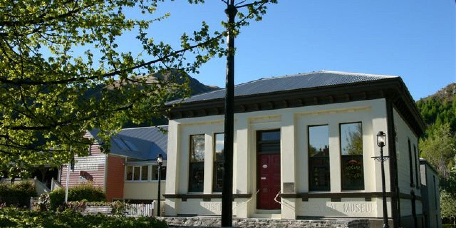 The Lakes District Museum in historic Arrowtown