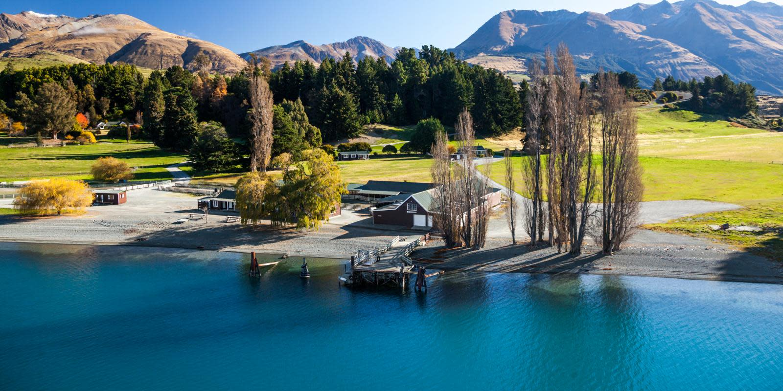 Mt Nicholas Station in Queenstown