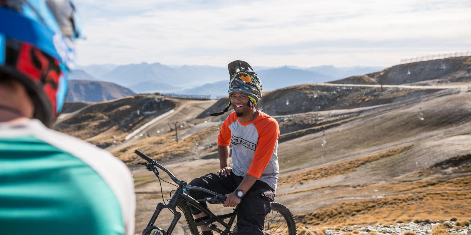 Downhill mountain biking adventure in Queenstown