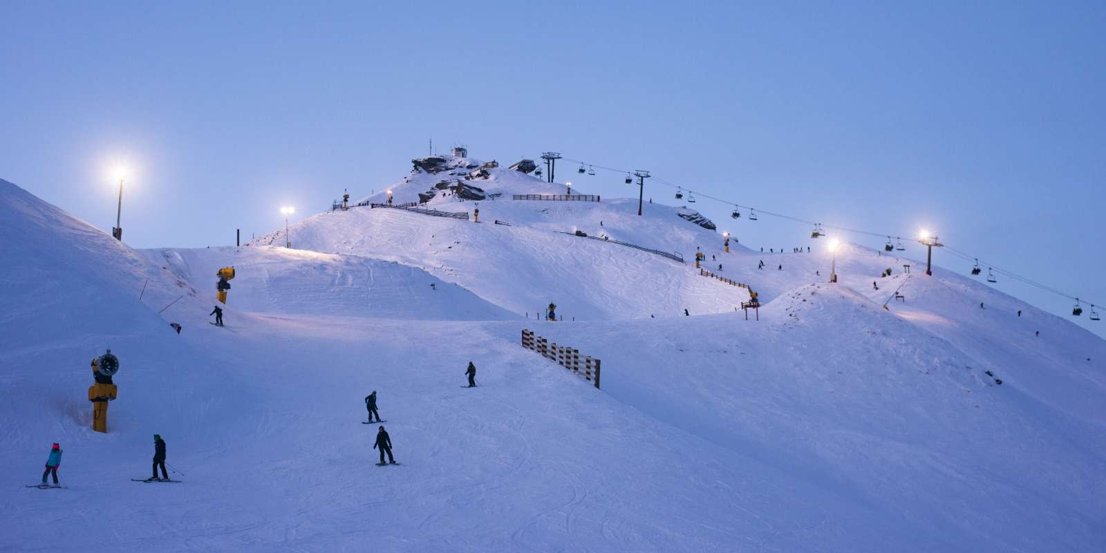 Night Ski at Coronet Peak