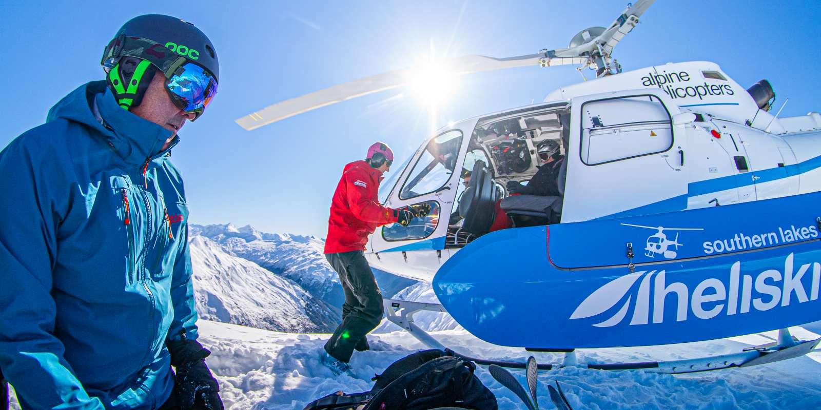 Heli Skiing with Southern Lakes Heliski