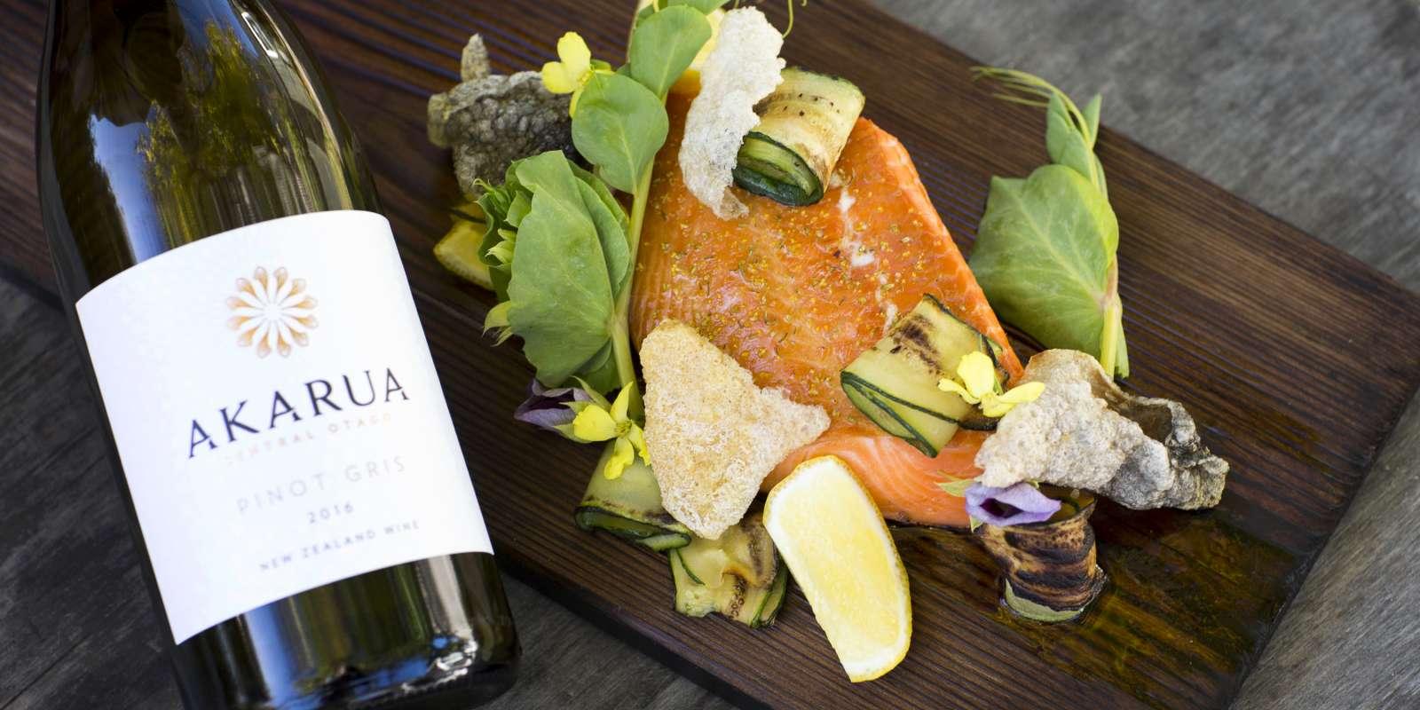 Autumn wine and food at Akarua Winery & Kitchen