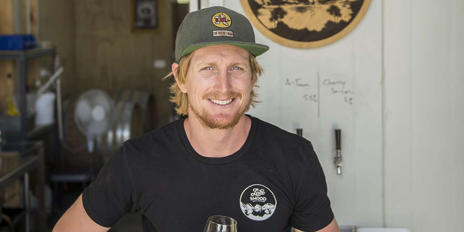 Local craft beer brewer, Jay Sherwood