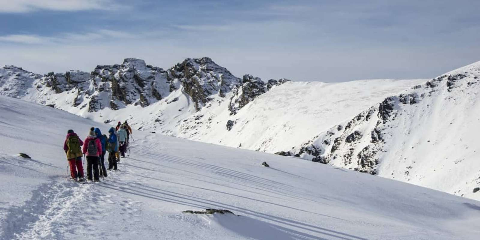 Snowshoeing in Queenstown