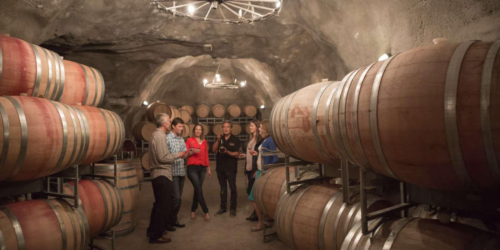 Visit NZ's largest underground wine cave