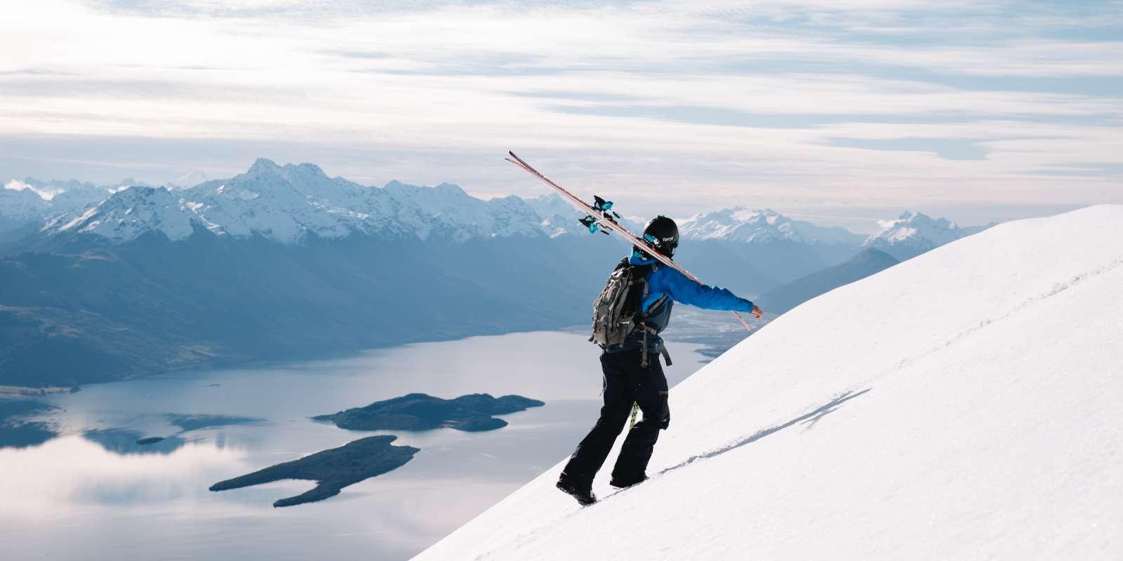 Backcountry skiing Queenstown