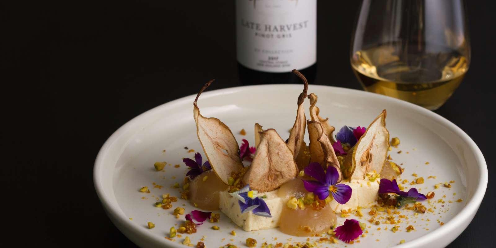 Gibbston Valley Winery Restaurant Honey Pistachio Parfait